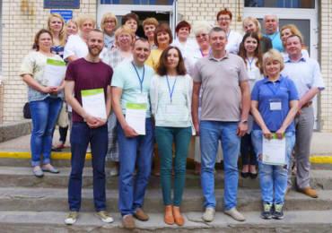Марина Первушина провела тренинг для руководителей Хмельницкой городской детской больницы