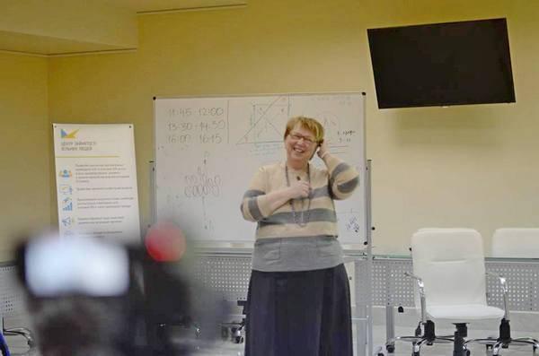 Марина Первушина провела тренинг по постановке целей