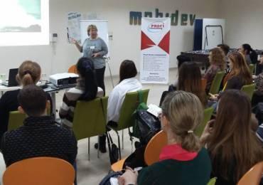Бизнес-тренер компании «Консалт Ресурс» Марина Первушина провела мастер-класс в клубе «HR-Мастерская»